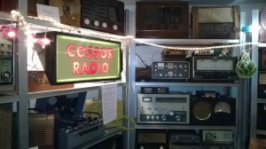 Inside the Hurdy Gurdy vintage radio museum